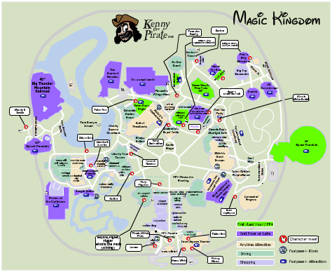 Rare image intended for magic kingdom printable map